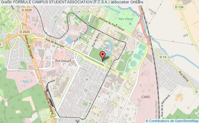plan association Formule Campus Student Association (f.c.s.a.)
