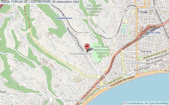 plan association Forum De L'entreprise 06
