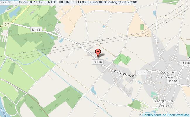 plan association Four Sculpture Entre Vienne Et Loire Savigny-en-Véron