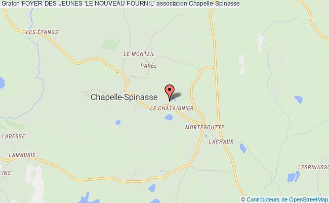plan association Foyer Des Jeunes 'le Nouveau Fournil'