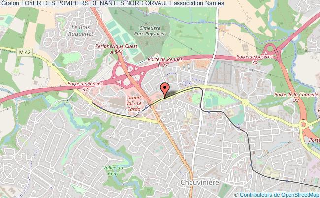 plan association Foyer Des Pompiers De Nantes Nord Orvault