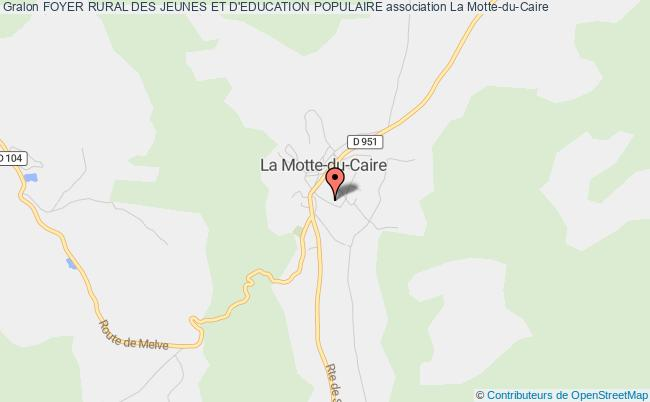 plan association Foyer Rural Des Jeunes Et D'education Populaire