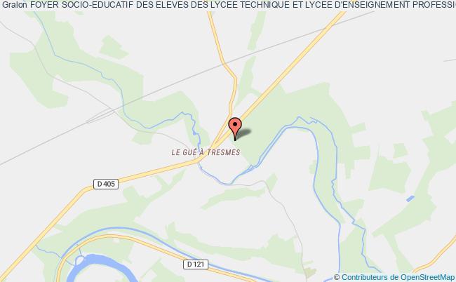 plan association Foyer Socio-educatif Des Eleves Des Lycee Technique Et Lycee D'enseignement Professionnel Du Domaine Du Gue-Â-tresmes Congis-sur-Thérouanne