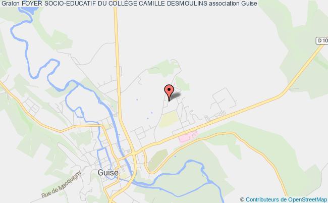 plan association Foyer Socio-educatif Du CollÈge Camille Desmoulins