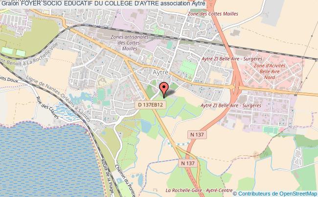 plan association Foyer Socio Educatif Du College D'aytre Aytré