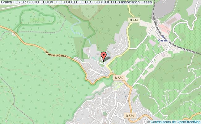 plan association Foyer Socio Educatif Du College Des Gorguettes