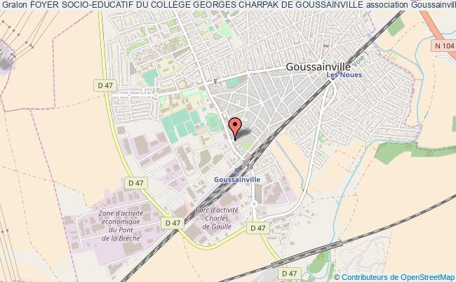 plan association Foyer Socio-educatif Du CollÈge Georges Charpak De Goussainville Goussainville