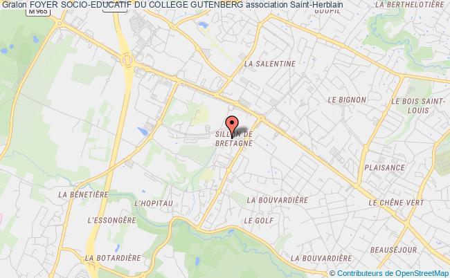 plan association Foyer Socio-educatif Du College Gutenberg