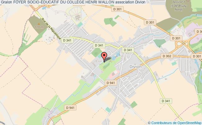 plan association Foyer Socio-Éducatif Du CollÈge Henri Wallon