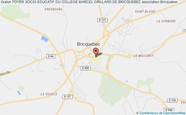 plan association Foyer Socio-educatif Du College Marcel Grillard De Bricquebec Bricquebec