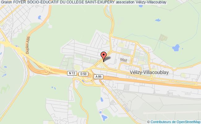 plan association Foyer Socio-Éducatif Du CollÈge Saint-exupÉry