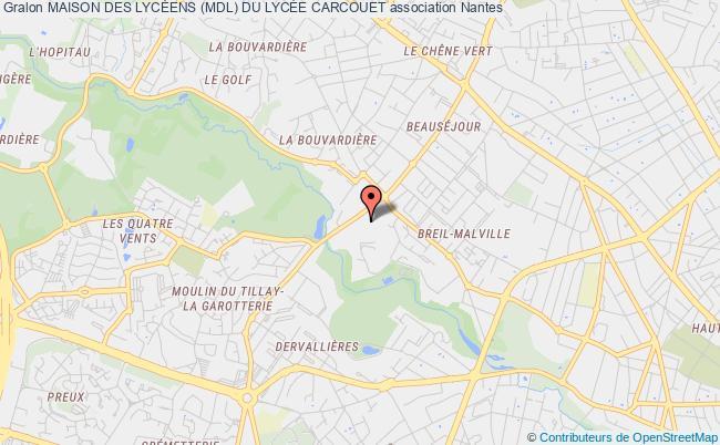 plan association Foyer Socio Educatif Du Lycee Carcouet
