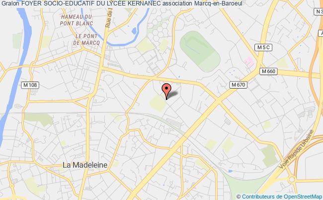 plan association Foyer Socio-educatif Du Lycee D'etat Mixte De Marcq En Baroeul