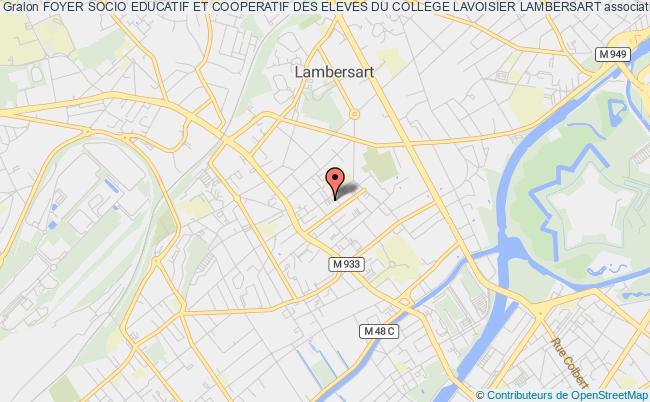 plan association Foyer Socio Educatif Et Cooperatif Des Eleves Du College Lavoisier Lambersart