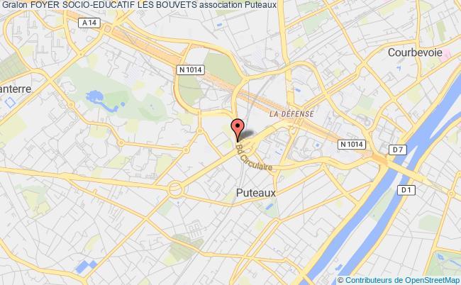 plan association Foyer Socio-educatif Les Bouvets