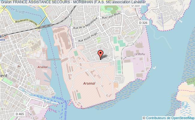 plan association France Assistance Secours - Morbihan (f.a.s. 56)