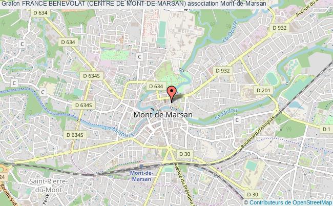 plan association France Benevolat (centre De Mont-de-marsan) Mont-de-Marsan