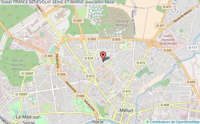 plan association France Benevolat Seine-et-marne Melun