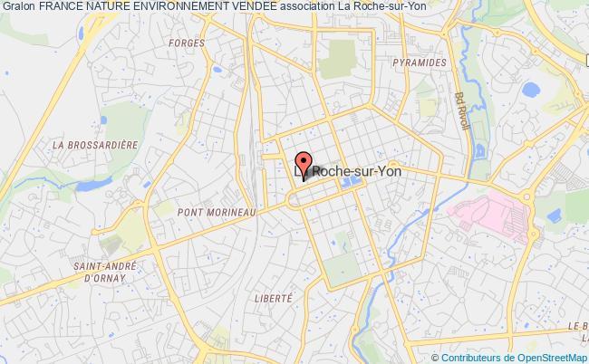 plan association France Nature Environnement Vendee La    Roche-sur-Yon