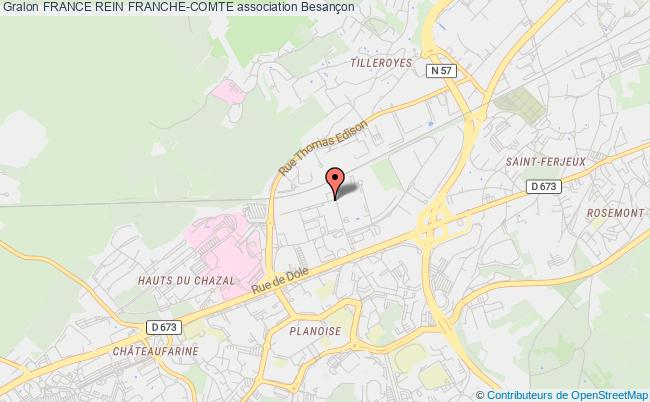 plan association France Rein Franche-comte