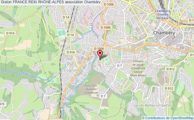 plan association France Rein RhÔne-alpes