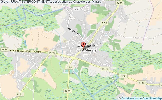 plan association F.r.a.t. Intercontinental La Chapelle-des-Marais
