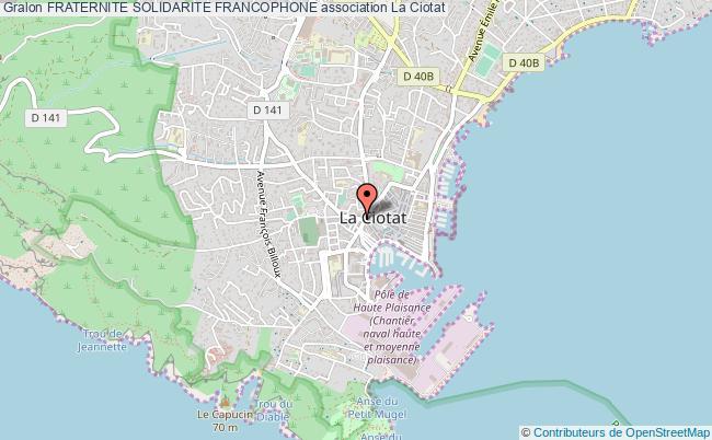 plan association Fraternite Solidarite Francophone