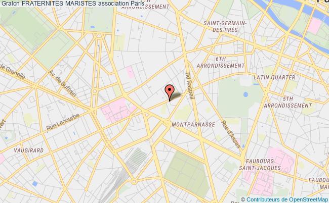 plan association Fraternites Maristes Paris
