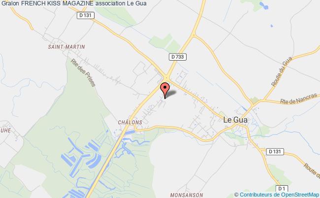 plan association French Kiss Magazine Beaumont-sur-Oise