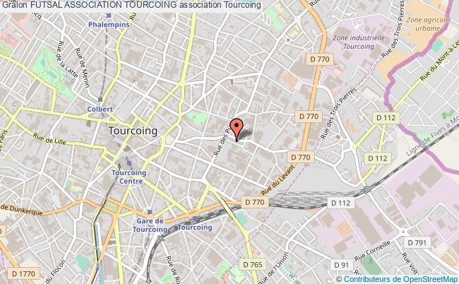 plan association Futsal Association Tourcoing Tourcoing
