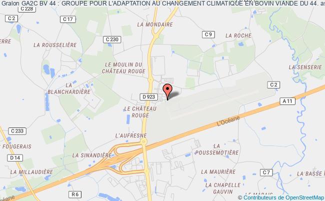plan association Ga2c Bv 44 : Groupe Pour L'adaptation Au Changement Climatique En Bovin Viande Du 44.