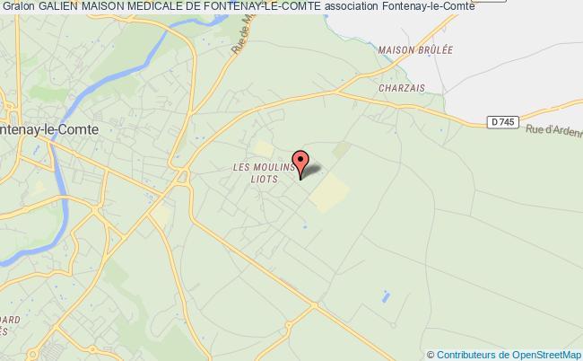 plan association Galien Maison Medical Fontenay-le-comte