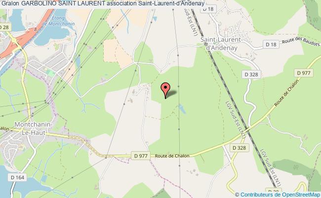 plan association Garbolino Saint Laurent