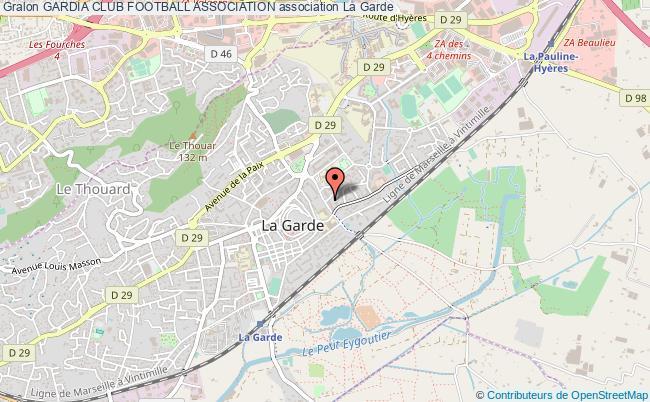 plan association Gardia Club Football Association