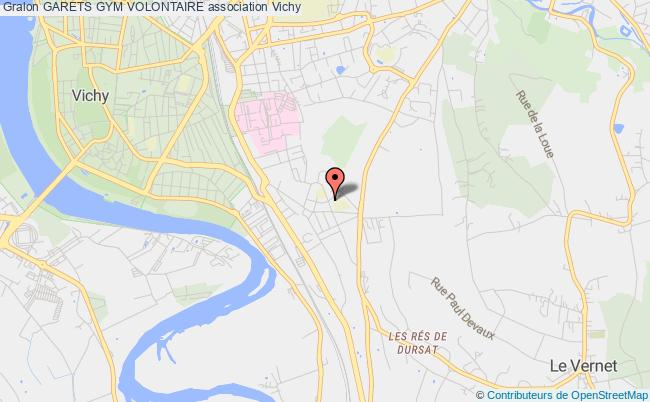 plan association Garets Gym Volontaire