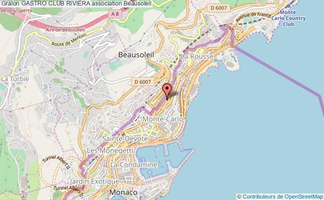 plan association Gastro Club Riviera