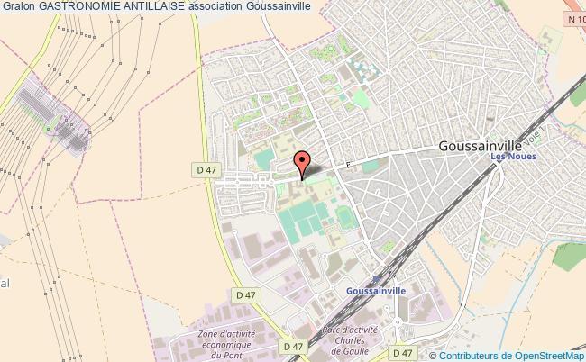 plan association Gastronomie Antillaise Goussainville