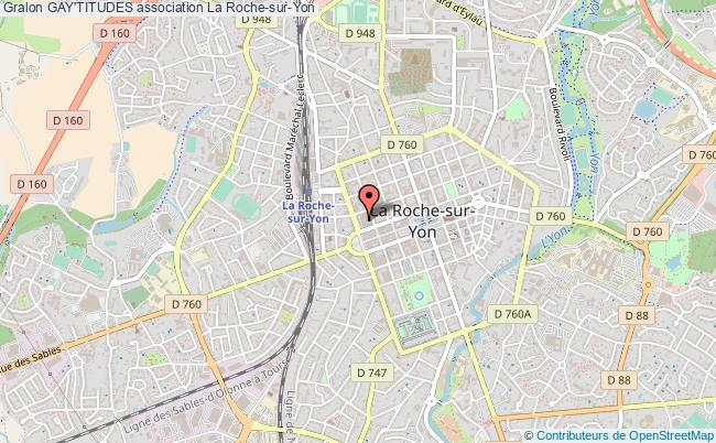 plan association Gay'titudes La    Roche-sur-Yon