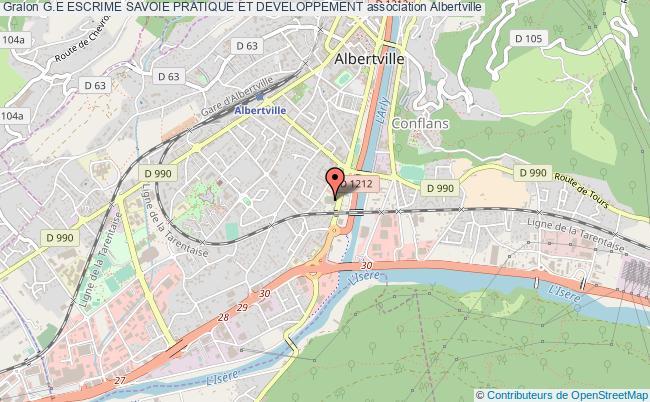 plan association G.e Escrime Savoie Pratique Et Developpement