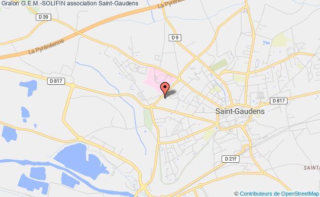 plan association G.e.m.-solifin Saint-Gaudens