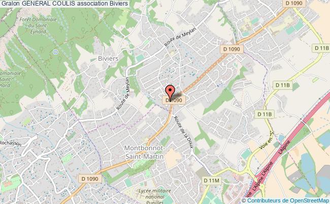 plan association GÉnÉral Coulis Biviers