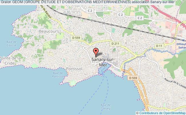 plan association Geom (groupe D'etude Et D'observations Mediterraneennes)