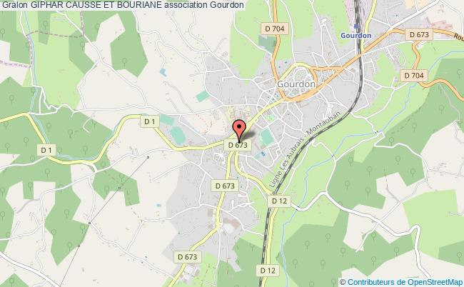 plan association Giphar Causse Et Bouriane