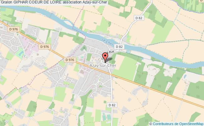 plan association Giphar Coeur De Loire