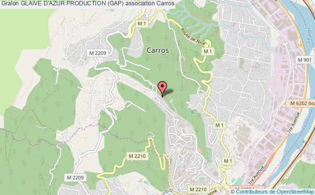 plan association Glaive D'azur Production (gap)