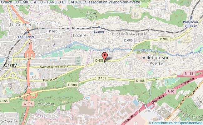 plan association Go Emilie & Co - Handis Et Capables Villebon-sur-Yvette