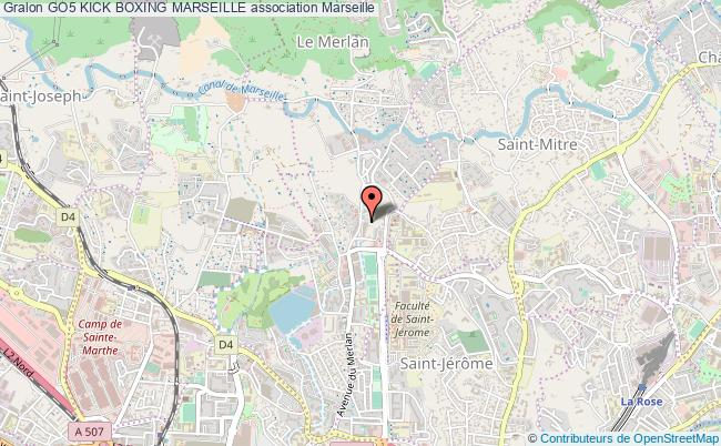 plan association Go5 Kick Boxing Marseille