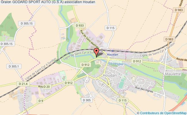 plan association Godard Sport Auto (g.s.a) Houdan