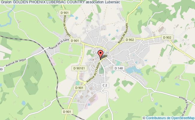 plan association Golden Phoenix Lubersac Country