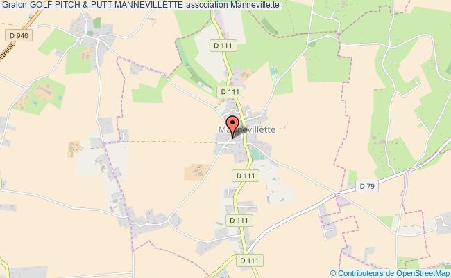 plan association Golf Pitch & Putt Mannevillette Mannevillette